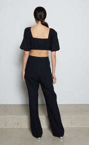 HARRIET TOP  - BLACK