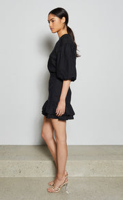 EVELYN MINI SKIRT - BLACK