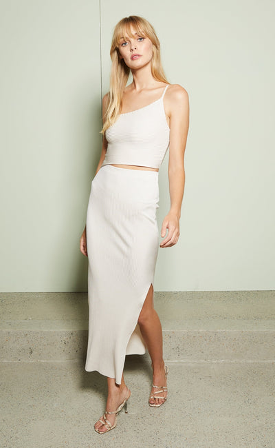 DARLING MIDI DRESS - HIMALAYAN SALT