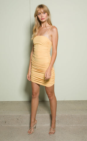 SADIE MINI DRESS - SHERBET