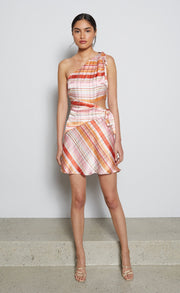 TOMMY MINI DRESS - MUTLI CHECK