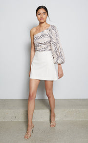 ANA MINI SKIRT - IVORY