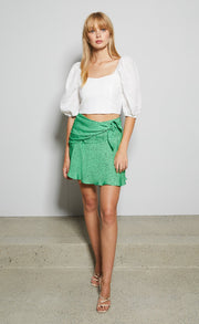 NEVE MINI SKIRT - APPLE SPOT