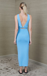 SORBET SUMMER MIDI DRESS - AZURE