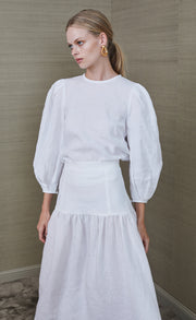 HATTIE BLOUSE - IVORY