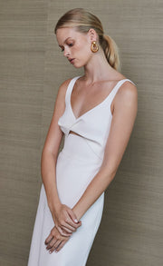 PEARL MIDI DRESS - IVORY