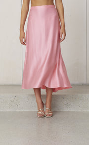 CLASSIC CIRCLE SKIRT - FLAMINGO
