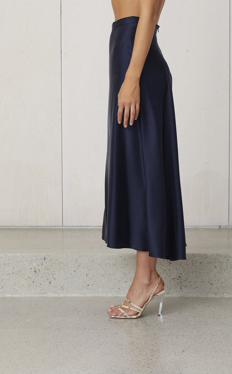 CLASSIC CIRCLE SKIRT - INK