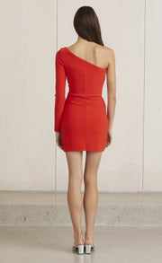 LEA MINI DRESS - FIRE