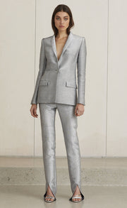 LADY SPARKLE BLAZER - METALLIC