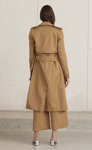 MILLICENT TRENCH COAT - CARAMEL