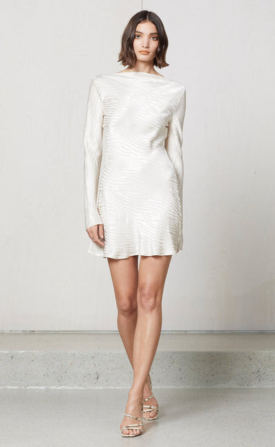 THE KAT MINI DRESS - SAND