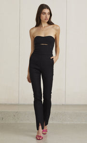 MADAME NOIR JUMPSUIT - BLACK