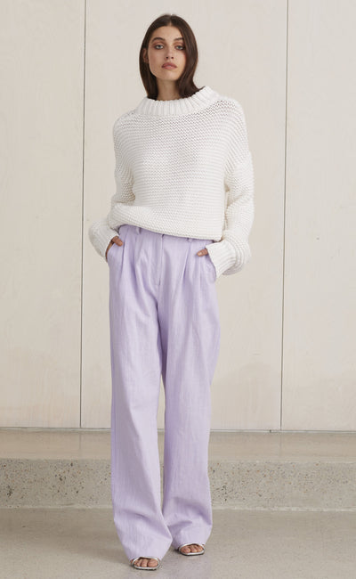 PIERETTE KNIT - IVORY
