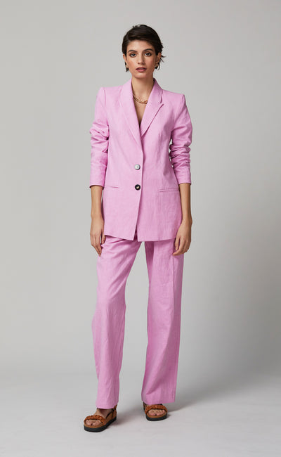VIVID ROSE BLAZER - CANDY