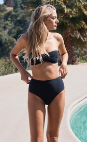 WAVE RIDER HIGH BOTTOMS - BLACK