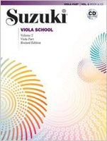 Suzuki Viola School, Volume 2: Viola Part and CD