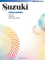 Suzuki Violin School, Vol. 3: Violin Part