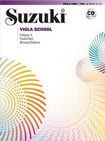 Suzuki Viola School, Volume 1: Viola Part and CD