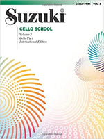 Suzuki Cello School, Volume 3: Cello Part