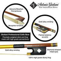 Giuliani Professional Cello Bow