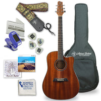 Antonio Giuliani DN-1 Steel-String Dreadnought Cutaway Acoustic Guitar Outfit