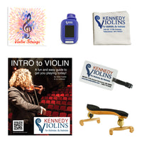 Kennedy Gold Violin Accessory Package