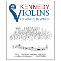 Kennedy Violins 2 Pocket Music Folder