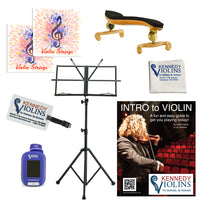 Kennedy Platinum Violin Accessory Package