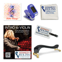 Kennedy Starter Violin Accessory Package