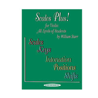 Scales Plus! for Violin by William Starr