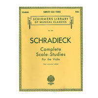 Schradieck Complete Scale-Studies For the Violin
