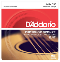 D'Addario Phosphor Bronze Medium 13-56 Guitar Strings