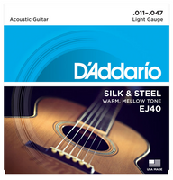 D'Addario EJ40 Silk & Steel 11-47 Guitar Strings