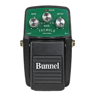 Bunnel Tremolo Effects Pedal