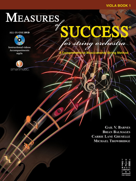MEASURE OF SUCCESS VIOLA BOOK 1 CD INCLUDED **BRAND NEW**