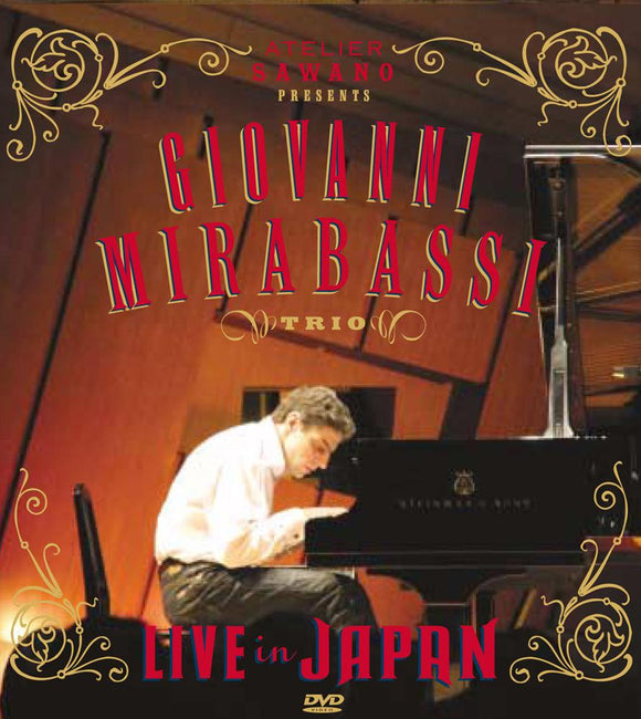 LIVE IN JAPAN (DVD) - GIOVANNI MIRABASSI TRIO