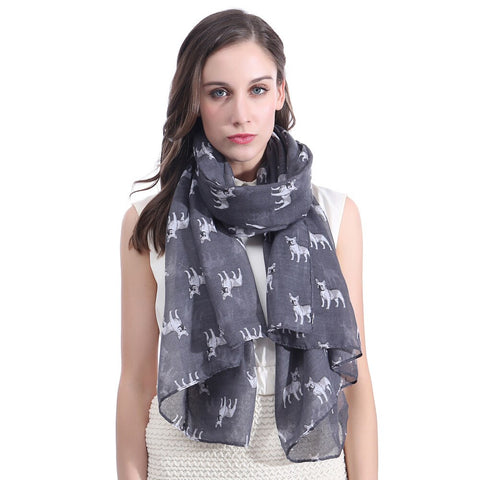Lotti Frenchie Scarf - Custom Frenchie Store