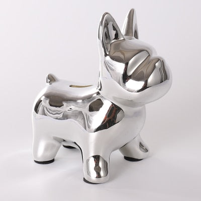 Frenchie Money Box