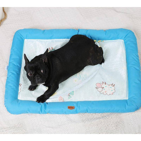 Image of Frenchie Cool Down Mat Frenchie Bed Custom Frenchie Store