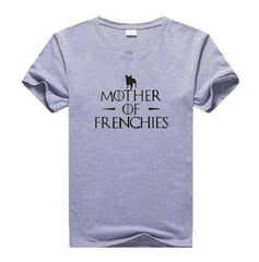 Mother of Frenchies T-Shirt - Custom Frenchie Store