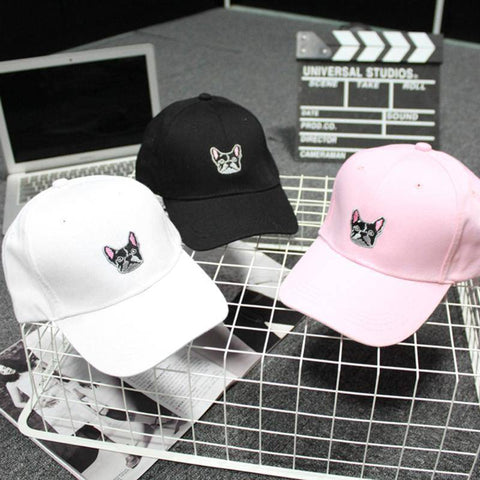 Image of Frenchie Baseball Cap Hats Custom Frenchie Store
