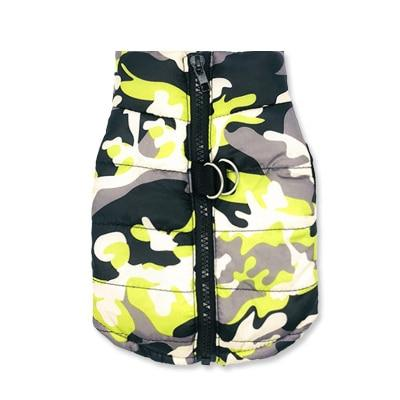 Waterproof Camo Frenchie Vest Frenchie Clothing Custom Frenchie Store E L