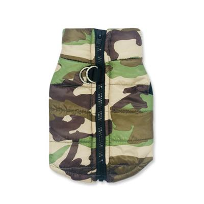 Image of Waterproof Camo Frenchie Vest Frenchie Clothing Custom Frenchie Store G L