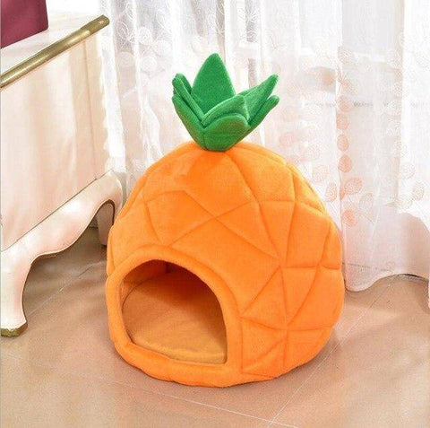 Frenchie Pineapple Bed Frenchie Bed Custom Frenchie Store Orange S