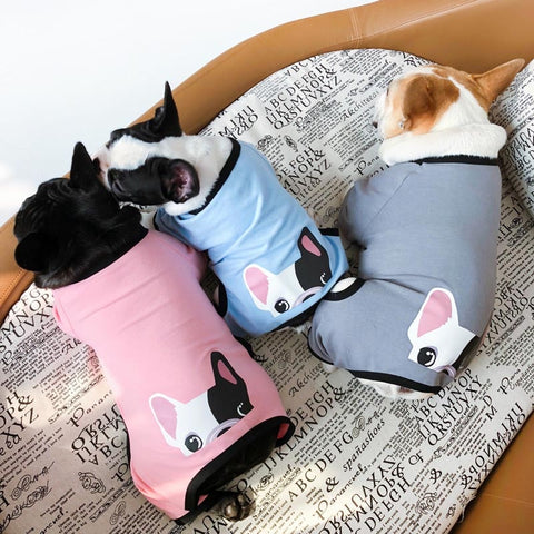 Peeking Frenchie Onesie - Custom Frenchie Store