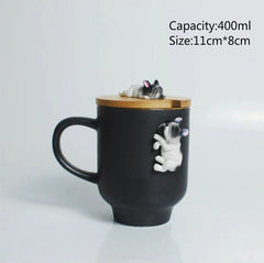 3D Frenchie Mug