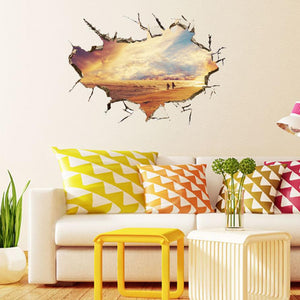 2016 New 3D wall stickers home decor wall art adesivo de parede sticker 3d movie wall stickers room decorations