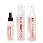 1 Hour Light Glow Tanning Mousse + Tanning Water + Gradual Tan - cos.u.r