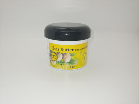 All Natural Shea Butter 4oz